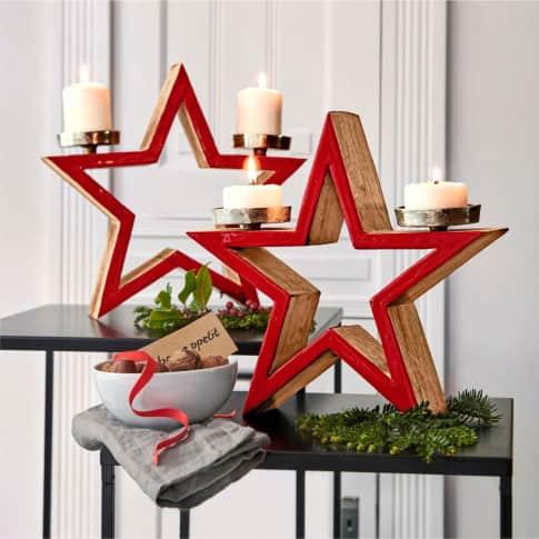 Kerzenhalter Stern Inszeniertes Bild