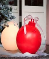 Leucht-Objekt Weihnachtskugel Inszeniertes Bild