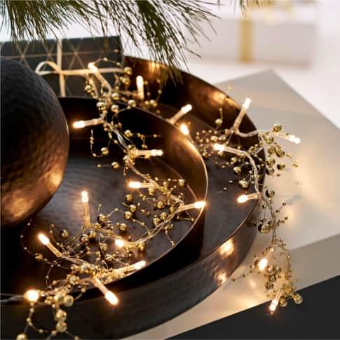 LED-Lichterkette Perlen Inszeniertes Bild