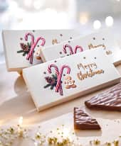 Schokoladen-Präsent, 3-tlg., Vollmilchschokolade mit Kaffeecreme, je 100g Inszeniertes Bild