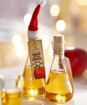 Apfel-Zimt-Likör, 100 ml im Erlenmeyerkolben Inszeniertes Bild
