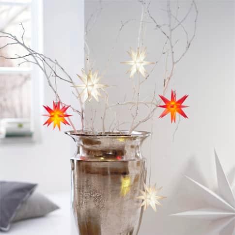 LED-3D-Stern, mit Timerfunktion/ Batteriefach, Ø ca. 12 cm Inszeniertes Bild