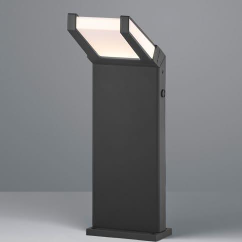 LED-Außenpollerleuchte Pagen, inkl. Leuchtmittel, warmweiß, modern, Metall, ca. H50 cm Inszeniertes Bild