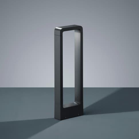 Außenpollerleuchte Roland, inkl. LED, warmweiß, Standleuchte, modern, Metall, ca. H50 cm Inszeniertes Bild