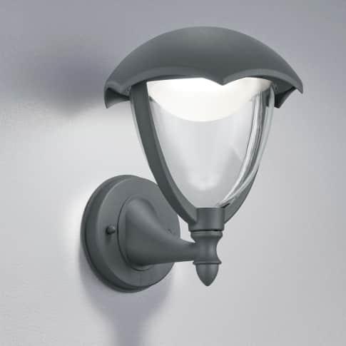Außenwandleuchte Fleet, inkl. LED, warmweiß, modern, Metall, ca. H24 cm Inszeniertes Bild