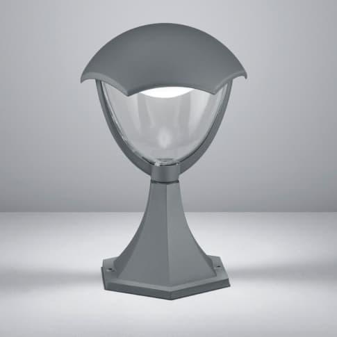 Außenpollerleuchte Fleet, inkl. LED, warmweiß, modern, Metall, ca. H31 cm Inszeniertes Bild