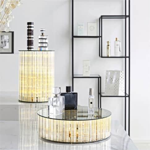 LED-Dekorationsfläche Stardust, Rauchglas, in 2 Größen erhältlich Inszeniertes Bild