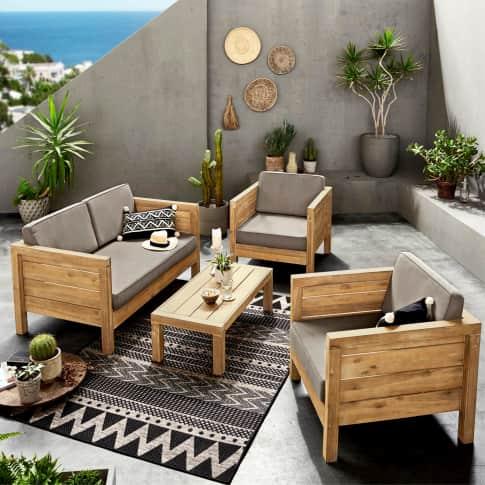 Outdoor-Lounge-Set, 4-tlg. Modeno Inszeniertes Bild