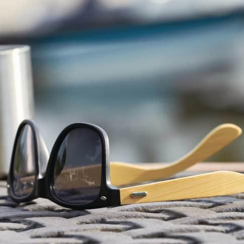 Sonnenbrille Bamboo Line, UV 400 zertifiziert Inszeniertes Bild