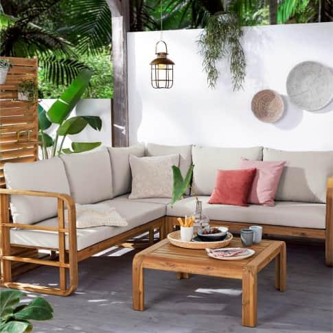 Outdoor-Lounge-Set, 4-tlg. Roma Inszeniertes Bild