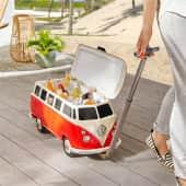 Kühlbox VW-Bus Inszeniertes Bild