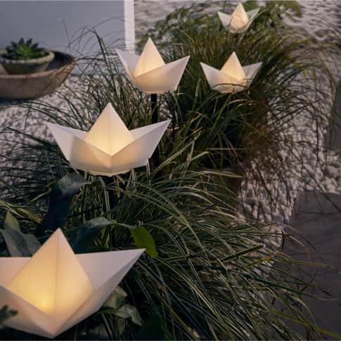 Solarleuchten-Set, 5-tlg. Boats, ca. Gesamtlänge 600 cm Inszeniertes Bild
