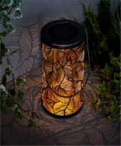 Solarleuchte Leaves, ca. H34 cm Inszeniertes Bild
