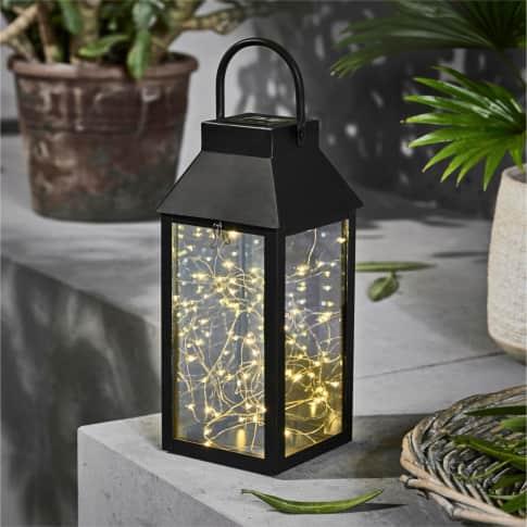 Solarleuchte Lantern, Mit 30 LEDs Inszeniertes Bild