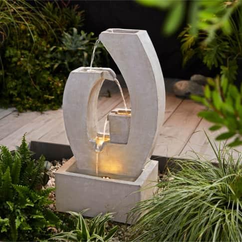 Outdoor-Brunnen Curve Inszeniertes Bild