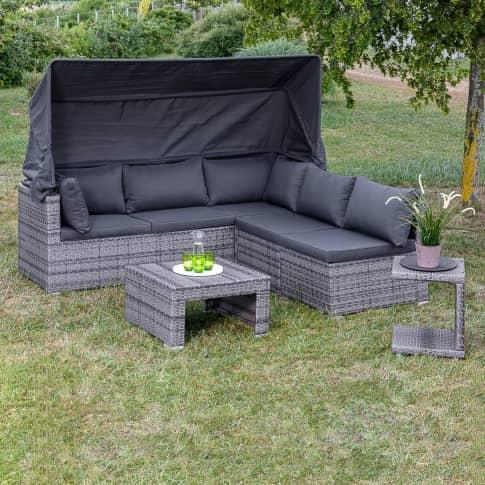 Outdoor-Lounge-Set Freya Inszeniertes Bild