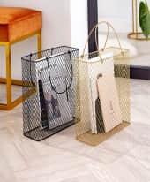 Aufbewahrungskorb Bag Inszeniertes Bild