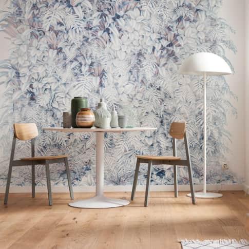 Digitaldruck Fototapete Blumenwand Inszeniertes Bild