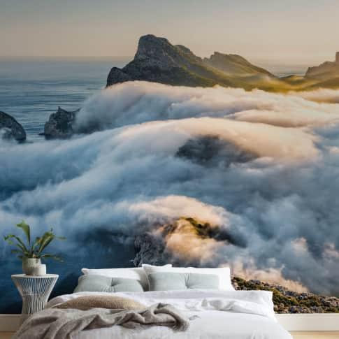 Digitaldruck Fototapete Steilküste Inszeniertes Bild