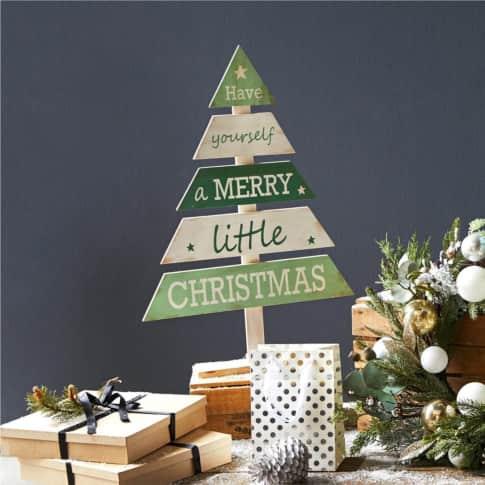 Deko-Tannenbaum Merry Little Christmas Inszeniertes Bild