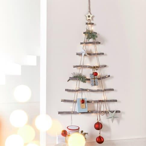 Wand-Objekt Weihnachtsbaum Inszeniertes Bild