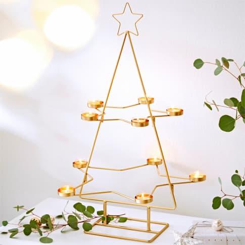 Teelichthalter Weihnachtsbaum Inszeniertes Bild