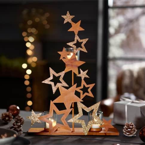 Teelichthalter Sterne Inszeniertes Bild