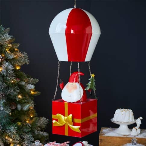 Deko-Objekt Weihnachtsmann Balloon Inszeniertes Bild