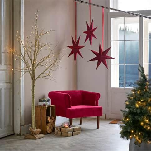 LED-Baum Magnifique, 132 LEDs, ca. 210 cm hoch Inszeniertes Bild
