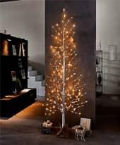 LED-Objekt Baum, 306 LEDs und Stern-Deko, ca. 210 cm hoch Inszeniertes Bild