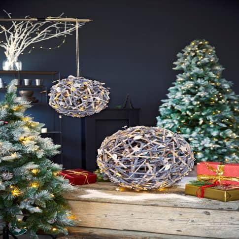LED-Deko-Objekt Weihnachtsball Inszeniertes Bild
