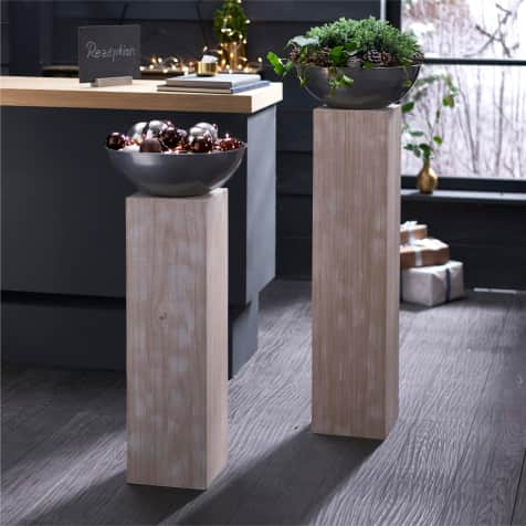 Holz schale säule mit paypal