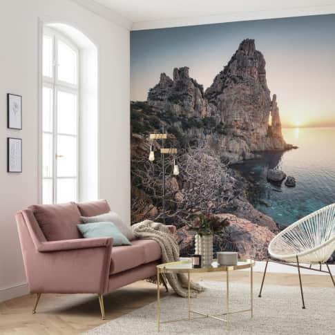 Vlies Fototapete Küste Sardinien Inszeniertes Bild