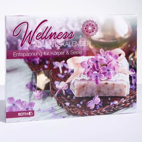 Wellness-Adventskalender Entspannung für Körper & Seele Inszeniertes Bild