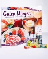 Frühstücks-Adventskalender Guten Morgen Inszeniertes Bild