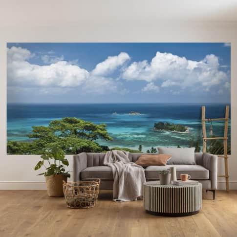 Vlies Fototapete Seychellen Inszeniertes Bild