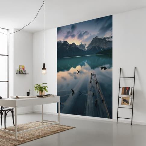 Vlies Fototapete Mountain Inszeniertes Bild