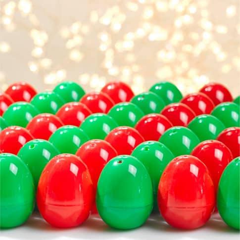 Weihnachtseier-Set, 50-tlg. Christmas Surprise Inszeniertes Bild