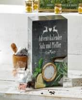 Adventskalender Salz und Pfeffer Inszeniertes Bild