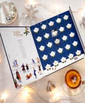 Tee-Adventskalender Christmas Night, Bio Tee, Pyramiden Beutel Inszeniertes Bild