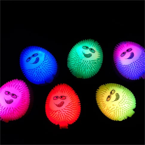 Eier-Set mit Licht, 12-tlg. Happy Eggs Inszeniertes Bild