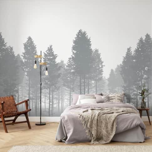 Vlies Fototapete The Fog Inszeniertes Bild