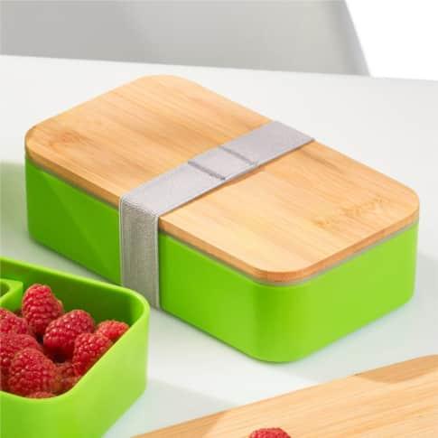 Lunchbox Green Inszeniertes Bild