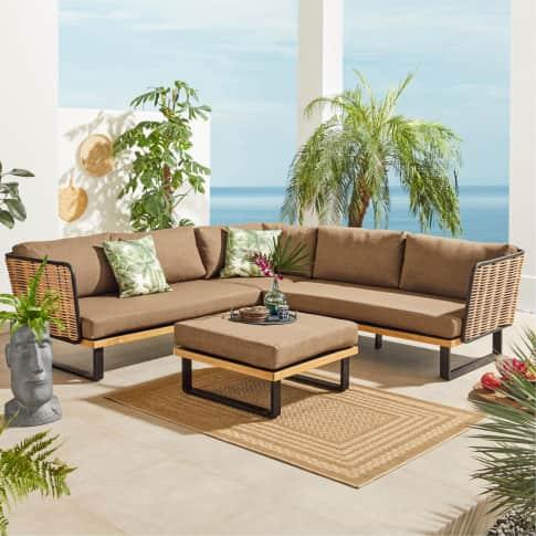 Outdoor-Möbel-Set, 2-tlg. Leonard Inszeniertes Bild