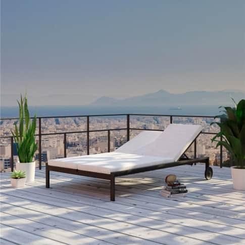 Outdoor-Doppelliege Nina, Daybed, inkl. Auflagen, modern, Aluminium Inszeniertes Bild