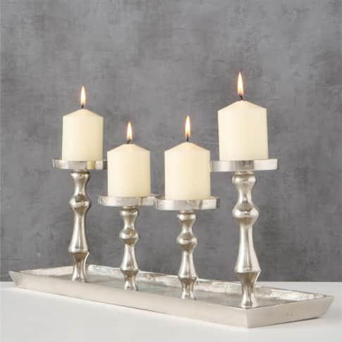 Kerzenständer Antique, mit 4 Kerzenhaltern, elegant, Metall, ca. B53 cm Inszeniertes Bild