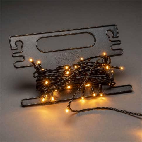 LED-Lichterkette Stacy, mit Aufroller, Outdoor geeignet, Kunststoff, ca. L2904 cm Inszeniertes Bild