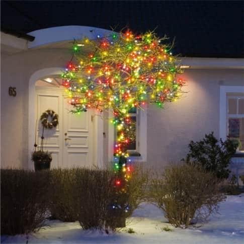 LED-Lichterkette Bunt Inszeniertes Bild