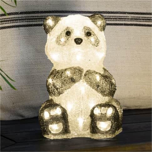 LED-Deko-Figur Panda Inszeniertes Bild