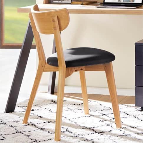 Stuhl-Set, 2-tlg. Nielson, mit Sitzpolster, skandinavisch Inszeniertes Bild